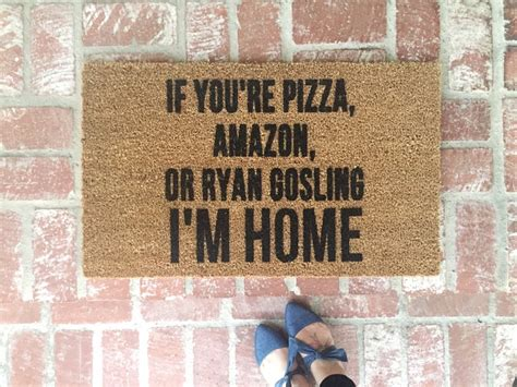 hilarious doormats doormats popsugar home