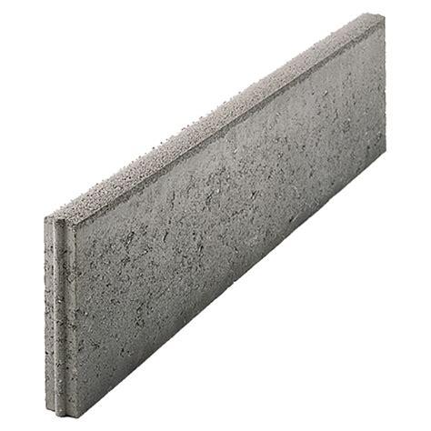 Wieviel Beton Für Randsteine by Ehl Rasenkante Grau 50 X 5 X 25 Cm Beton Bauhaus
