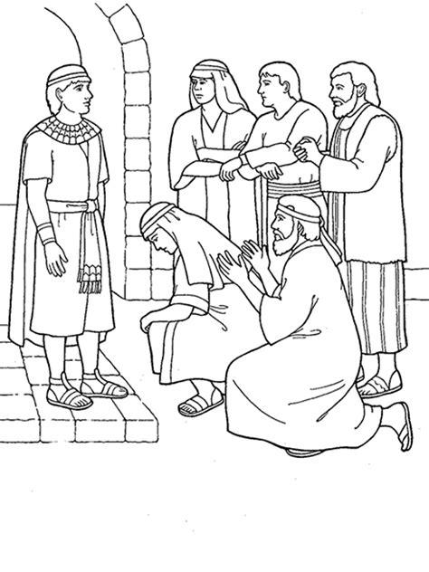 joseph forgives  brothers