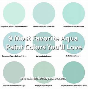 Benjamin Moore Dolphin's Cove - Interiors By Color (1