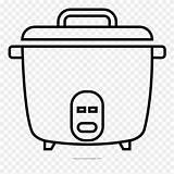 Crock Pot Coloring Clipart Pinclipart sketch template