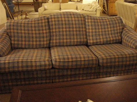plaid loveseat plaid sofa and loveseat emily sofa broyhill thesofa
