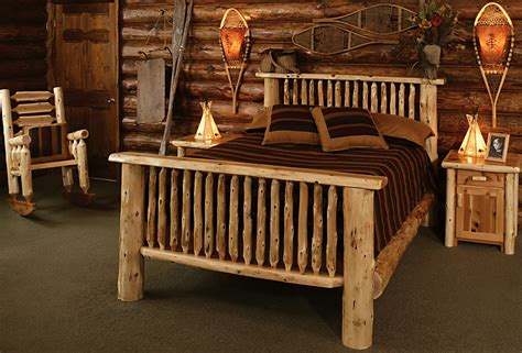 bedroom rustic furniture mall  timber creek