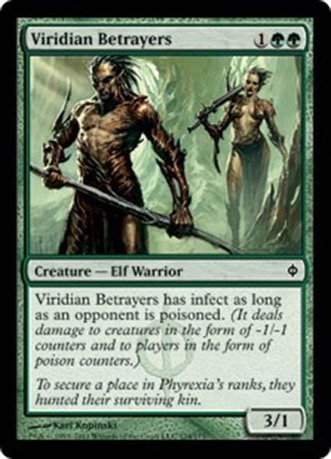 Infect Deck Mtg 2015 by Ironroot Chef Glistening Magic The Gathering