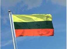 Litauen Fahne kaufen 90 x 150 cm FlaggenPlatzde