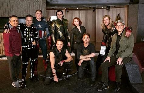 Avengers Endgame This Bts Photo Featuring The Will