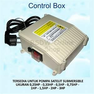 Jual Panel Control Kontrol Box Pompa Air Satelit Submersible Pump Water Di Lapak Apri Shop Apri603