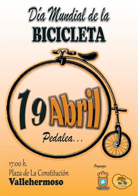 La bicicleta es un medio de transporte sostenible, sencillo, asequible, fiable, limpio y ecológico que contribuye a la gestión ambiental y beneficia la salud. Vallehermoso celebra este jueves el Día Mundial de la Bicicleta - Gomeranoticias