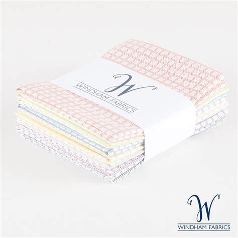 pastel grid quarter bundle windham fabrics 7 pieces pineapple fabrics