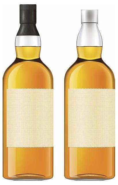Bottle Vector Whiskey Clip Whisky Illustrations Illustration