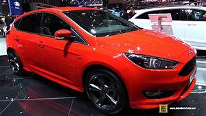 Ford St Line : 2017 ford focus st line exterior and interior walkaround 2017 geneva motor show youtube ~ Maxctalentgroup.com Avis de Voitures