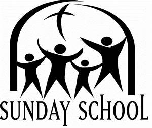 Sunday School Black And White Clipart - Clipart Suggest