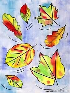 Malen Mit Wasserfarben : der herbst kommt zeit mit wasserfarben ein tolles bild zu malen startpunkt de ~ Orissabook.com Haus und Dekorationen