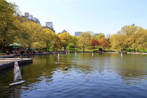 Central Park Boat Club by Conservatory Water