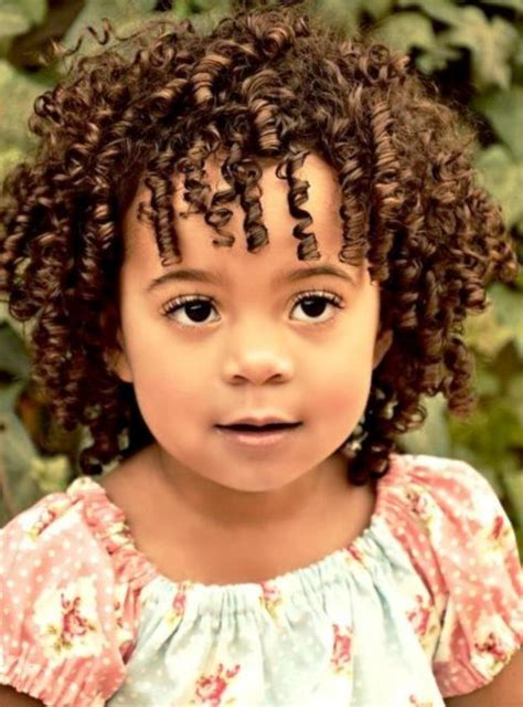 cute ideas  curly hairstyle  kids inspired luv