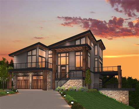 floor plans with 2 master bedrooms breathless shed roof house plan by stewart home design