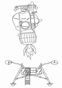 Lunar Lander Drawing (page 2) - Pics about space