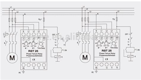 rst25 electronic voltage relay buy over voltage relays phase failure relay dc voltage