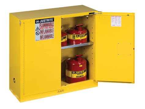justrite flammable cabinet shelves sure grip 174 ex flammable safety cabinet cap 30 gal 1