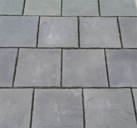 concrete paving patio slabs in charcoal 600 x 600 in