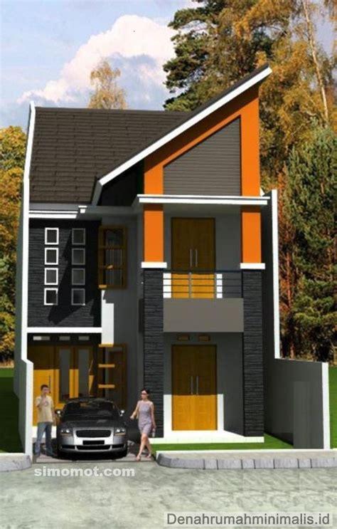 desain rumah minimalis  lantai beserta denah update