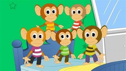Monkeys Five Nursery Rhyme
