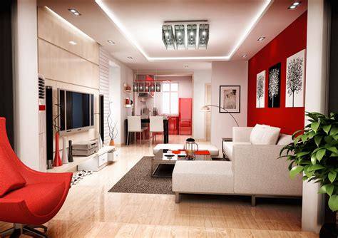 interesting ideas  red living room decor camer design