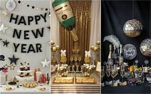 Silvester Deko 2017 : party deko f r silvester 2018 selber basteln 12 coole ideen ~ Frokenaadalensverden.com Haus und Dekorationen