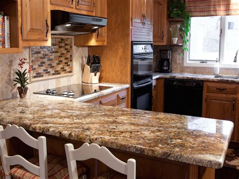 kitchen decorating ideas for countertops betularie granite countertop kitchen design ideas