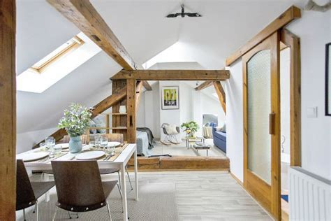 Welcoming Warm Cozy Attic Apartment Rustic Feel by 17 Best Ideas About Attic Apartment On