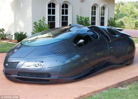 Designer's Concept Car Based On Science Fiction Movies And