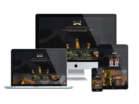 top free templates joomla top best free restaurant website templates for joomla 2018