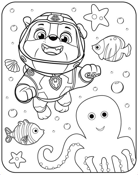 45 Unique Collection Of Coloring Paw Patrol in 2020 Paw