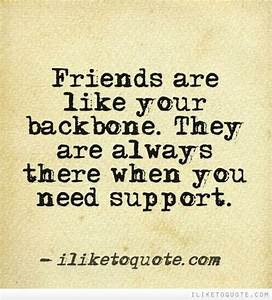 Friendship Quotes Support. QuotesGram