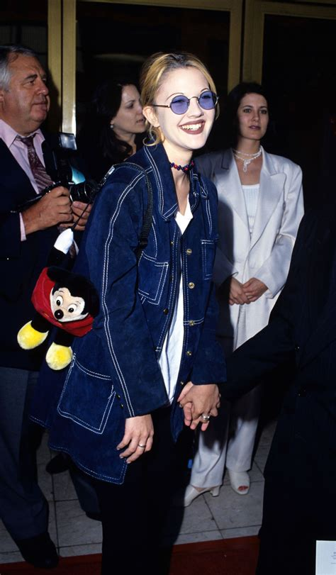 drew barrymore    style icon