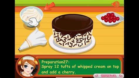 jeux de cuisine de tessa fait une kirschtorte jeux gratuits de cuisine