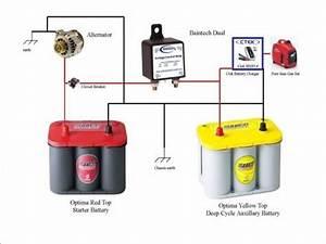 Battery Isolator Wiring Diagram Di 2020