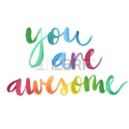 You Are Awesome Free Clipart Clipartxtras