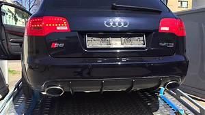 Audi S6 Rs6 Avant 5 2 V10 2007  Rs Exhaust Sound   Uitlaatsysteem   C6