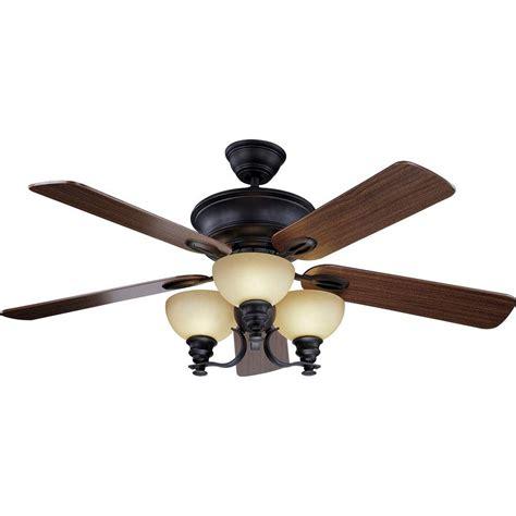 bronze ceiling fan light kit clarkston 44 in oiled rubbed bronze ceiling fan with