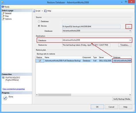 Backup Of Database X On Sql Server  On Server A