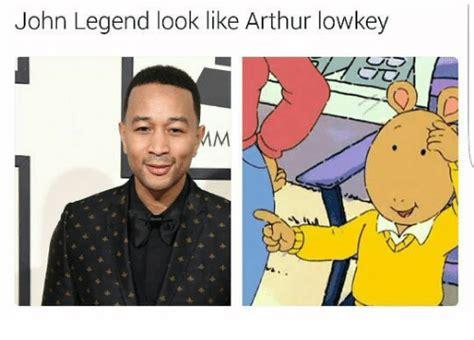 John Legend Meme - john legend look like arthur lowkey arthur meme on sizzle