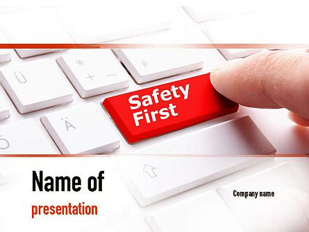 computer safety  powerpoint template backgrounds