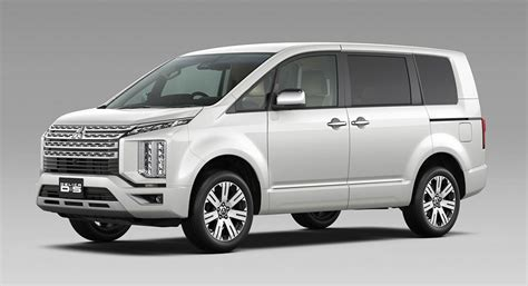 Review Mitsubishi Delica by 2019 Mitsubishi D 5 Delica Is A Boldly Styled Japan Only