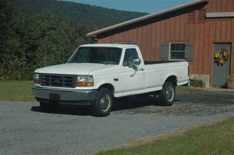 how to fix cars 1992 ford f250 security system sell used 1992 f250 pickup 5 speed manual trans w od in sugar valley georgia united states