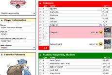 pokemon deck list sheet images pokemon images