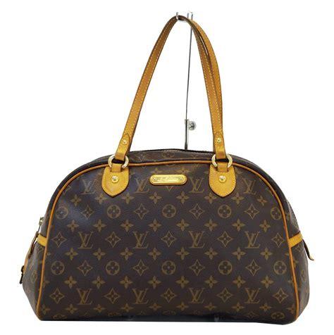 louis vuitton monogram canvas montorgueil gm shoulder bag dallas designer handbags