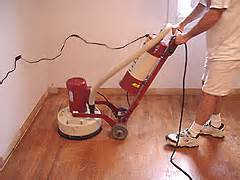 sanding old hardwood flooring with the varathane ezv