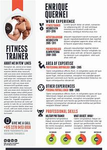 fitness trainer resume templates for cv With fitness resume template