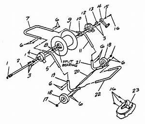 Craftsman Craftsman Hose Reel Cart Parts